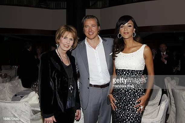 Dr Christa Maar Verona Pooth and Franjo Pooth at 10th Anniversary Of The Felix Burda Award Hotel Adlon in Berlin