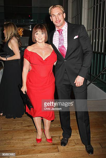 Dr Christian Jessen and Finty Williams attend the Collars and Cuffs Ball at the Royal Opera House on September 17 2009 in London England
