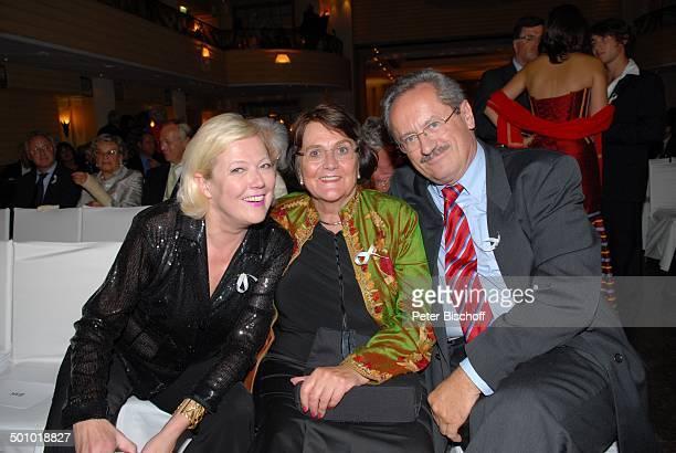 Dr Christian Ude Ehefrau Edith von WelserUde Susanne Wiebe BenefizGala 10 Jahre Horizont eV Swinging Jazz Night Hotel Bayerischer Hof München Bayern...