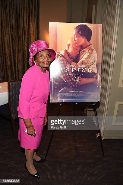 Dr Christine Farris attends LOVING VIP Screening Private Reception hosted by Ruth Negga at Davio's at on October 9 2016 in Atlanta Georgia