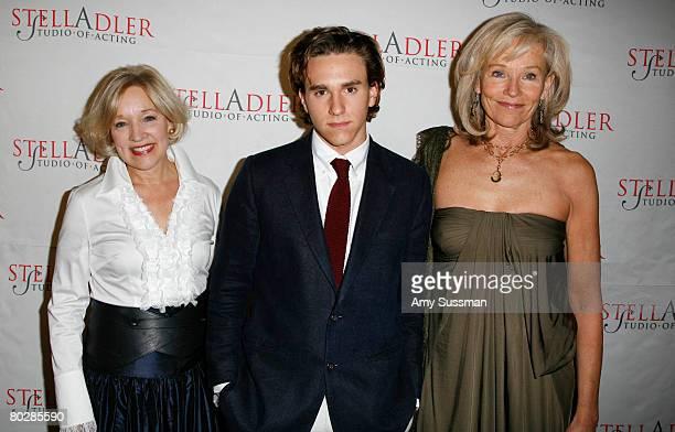 Dr. Christine Northrup, Christian Scheider and Brenda Siemer Scheider attend the Stella Adler Studio fourth annual Stella by Starlight benefit gala...