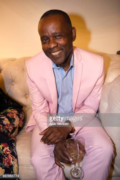 Dr Christopher Metzler at Los Angeles Fashion Week Powered by Art Hearts Fashion LAFW FW/18 10th Season Anniversary Backstage and Front Row Day 5 at...