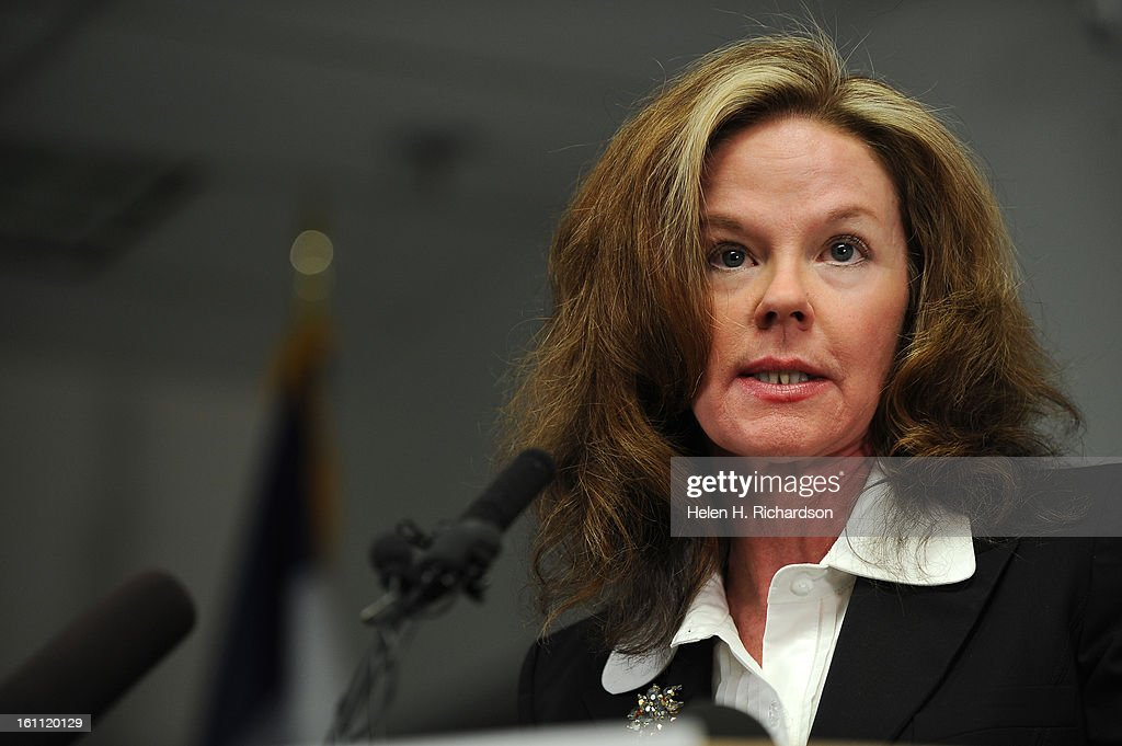 (HR) Dr. Cindy Stevenson, Superintendant of the Jeffco Schools, addresses the meda during a press conference at the Colorado Department of Public Health and Envrionment. Today the Colorado Department of Public Health and Environment reported two additiona : News Photo