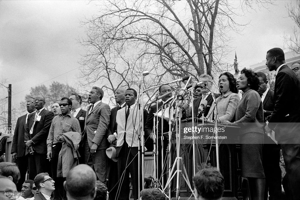 Selma To Montgomery Civil Rights March : News Photo