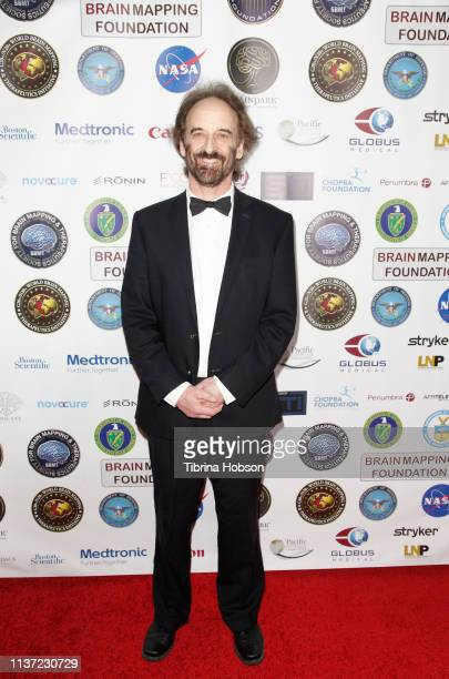 Dr Clark Elliott attends the 16th annual 'Gathering for Cure' black tie awards gala of Brain Mapping Foundation on March 16 2019 in Los Angeles...