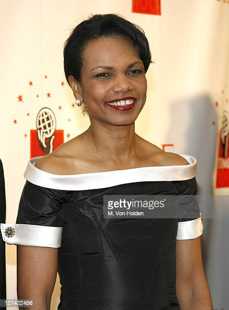 Dr Condoleezza Rice during Time Magazine 100 Most Influential People 2006 Party at Jazz at Lincoln Center in New York New York United States