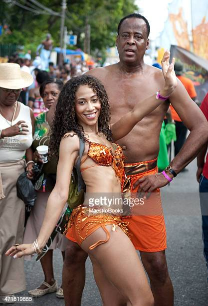 dr. conrad murray enjoying the carnival in trinidad - trinidad carnival stock pictures, royalty-free photos & images