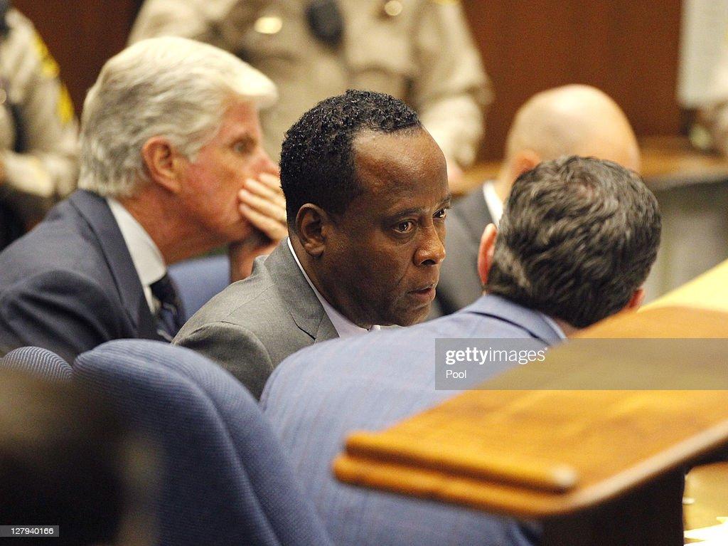 Dr. Conrad Murray Trial : News Photo
