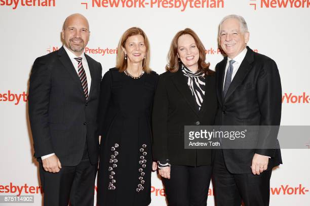 Dr Craig Albanese Dr Mary D'Alton Ellen Corwin and Dr Steven J Corwin attend NewYorkPresbyterian Hospital's Amazing Kids Amazing Care dinner at...