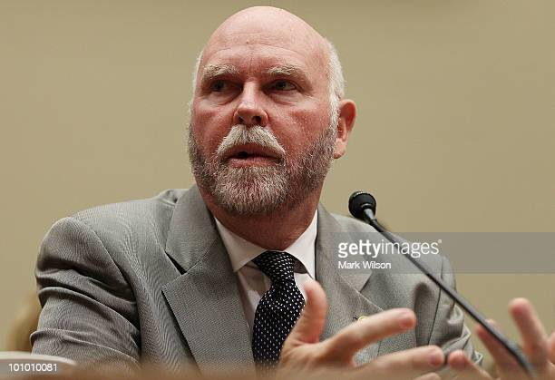 Dr Craig Venter founder chairman and president of the J Craig Venter Institute participates in a House Energy and Commerce Committee hearing on...