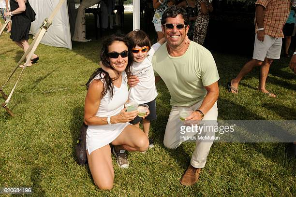Dr Dana Gurvitch Justin Gurvitch and Howard Gurvitch attend TMOBILE SIDEKICK Lounge at the MERCEDESBENZ Bridgehampton Polo Challenge Hosted by CHACE...