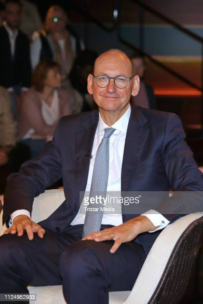 Dr Daniel Stelter during the 'Markus Lanz' TV show on February 14 2019 in Hamburg Germany The show airs on February 19
