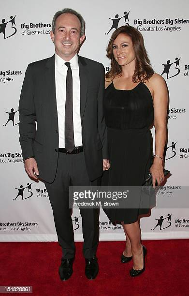 Dr David Agus and Amy Povich attend Big Brothers Big Sisters Of Greater Los Angeles 2012 Rising Stars Gala at The Beverly Hilton Hotel on October 26...