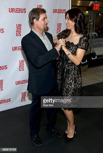Dr David Colbert and Dara Tomanovich attend the 2nd Annual Up2Us Gala at MercedesBenz Manhattan on May 14 2014 in New York City