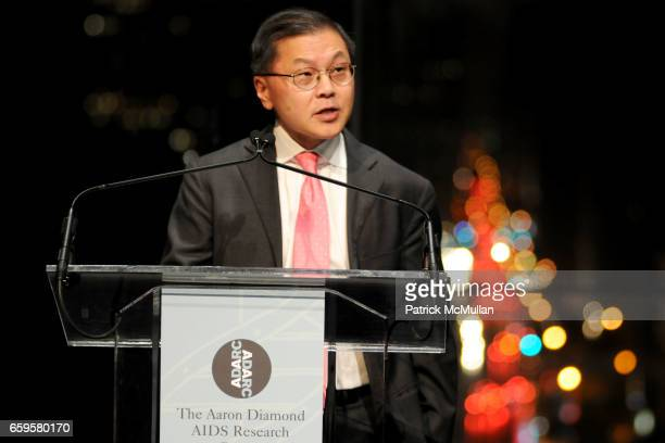 Dr David Ho attends The Inaugural IRENE DIAMOND AWARD GALA at Jazz at Lincoln Center on October 15 2016 in New York City