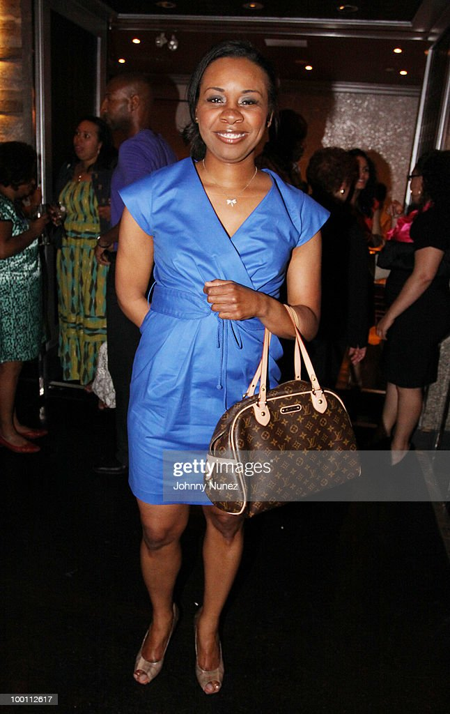Dr. Dawn Jones-Sylla attends a press reception for 'Souls of My Young Sisters' at Covet on May 20, 2010 in New York City.