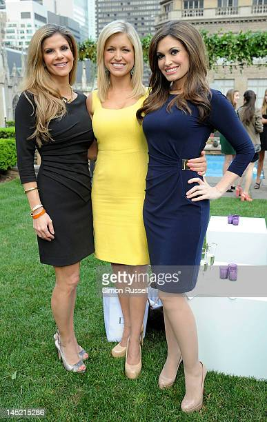Dr Dendy Engelman Ainsley Earhardt and Kimberly Guilfoyle attend the Faberge New York Flagship Grand Opening at 620 Loft Garden on May 23 2012 in New...