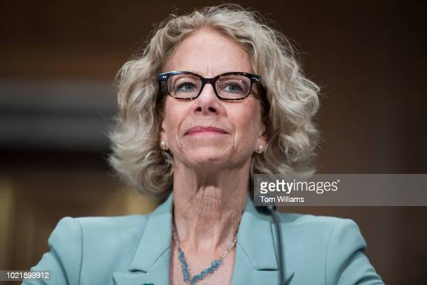 Dr Diana Bianchi director of the Eunice Kennedy Shriver National Institute of Child Health and Human Development testifies during Senate Health...