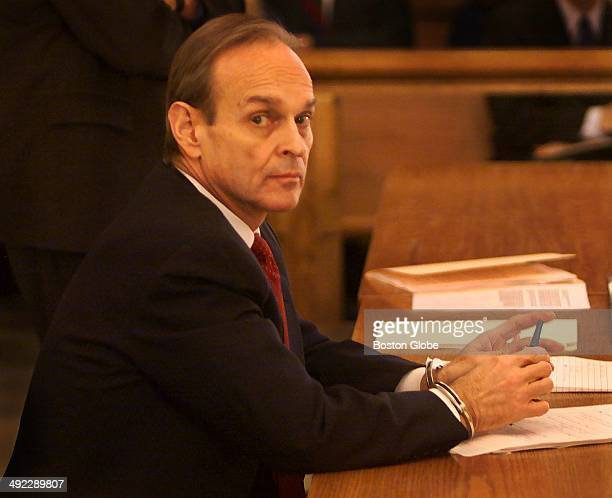 Dr Dirk Greineder at today's motion hearing at Norfolk Superior Court in Dedham on Jan 25 2001 Greineder an allergist at Brigham and Womens Hospital...