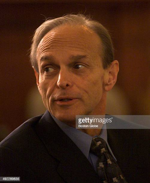 Dr Dirk Greineder during his trial at Norfolk Superior Court in Dedham Mass on June 14 2001 Greineder an allergist at Brigham and Womens Hospital was...