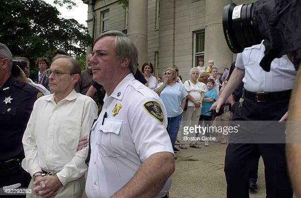 Dr Dirk Greineder is escorted from Norfolk Superior Court in handcuffs on June 29 after being convicted of firstdegree murder in the death of his...
