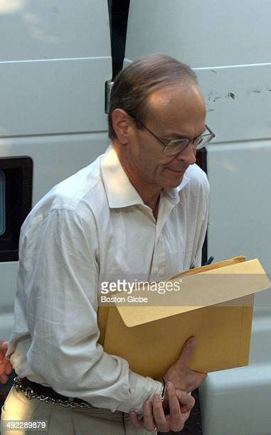 Dr Dirk K Greineder makes his way into Norfolk Superior Court on the morning of June 28 2001 Greineder an allergist at Brigham and Womens Hospital...