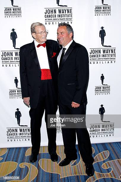 Dr Donald Morton and actor Ethan Wayne attend the John Wayne cancer institute auxiliary's 28th annual odyssey ball at the Beverly Wilshire Four...