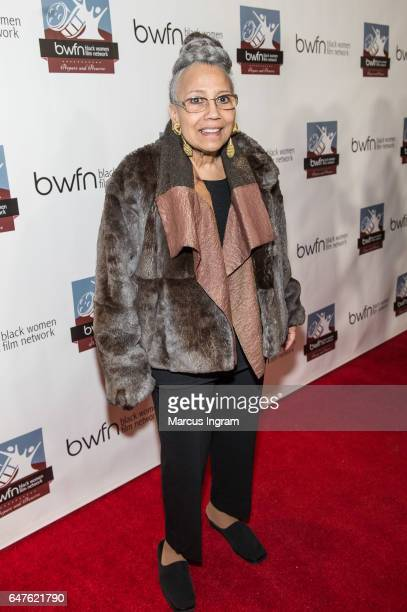 Dr Doris Derby attends the 2017 Black Women Film Summit Untold Stories awards luncheon at Atlanta Marriott Marquis on March 3 2017 in Atlanta Georgia