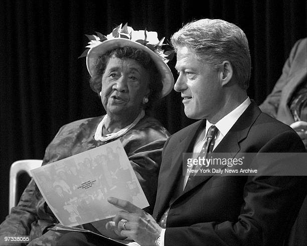 Dr Dorothy Height and President Bill Clinton at Equal Pay event Dr Height was at the original bill signing with then President John F Kennedy...