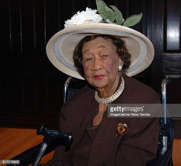 Dr Dorothy Height comes to the National Press Club to listen to what Secretary of Education Margaret Spellings speech on educational opportunities in...