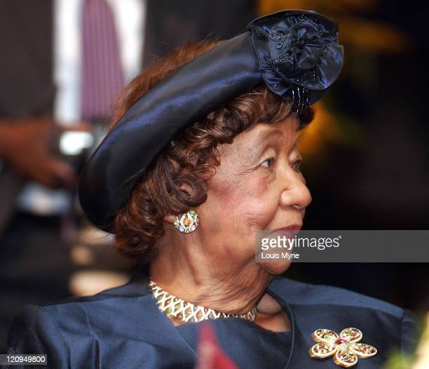 Dr Dorothy Height president of NCNW during 7th Annual NCNW Uncommon Height Gala at JW Marriott Hotel in Washington DC District of Columbia United...