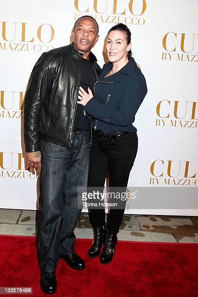 Dr Dre and Nicole Young attend the LA Launch Of CULO By Mazzucco at Sunset Marquis Hotel Villas on November 19 2011 in West Hollywood California