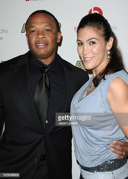 Dr Dre And Wife Nicole Threatt Attend The Rd Annual Ascap Rhythm Soul Music Awards At