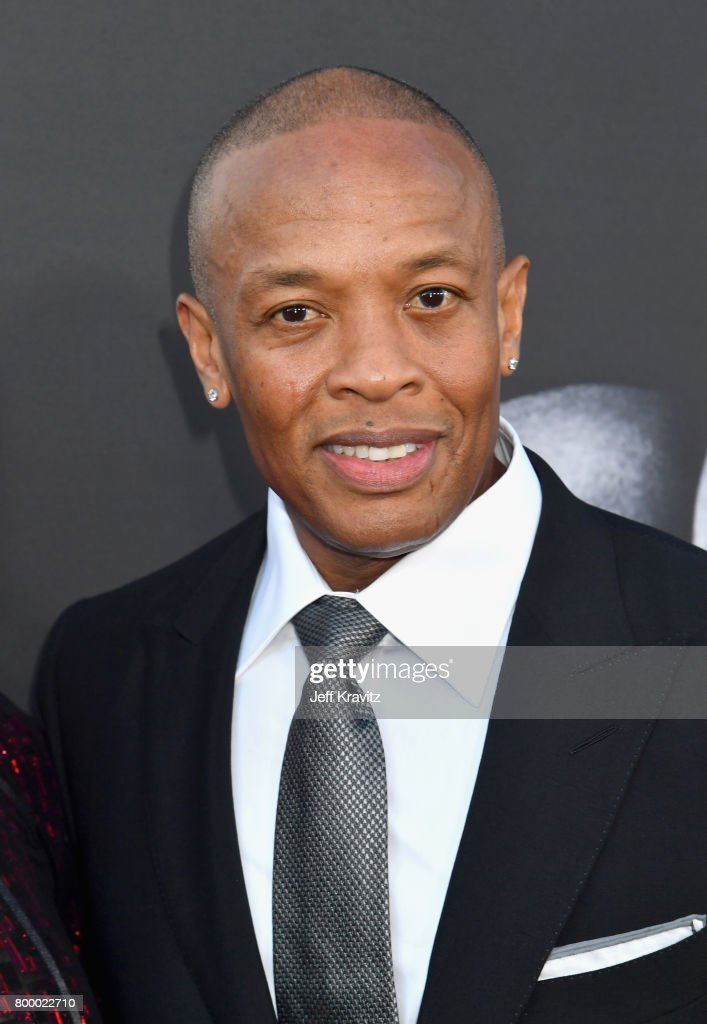 Dr. Dre attends HBO's 'The Defiant Ones' premiere at Paramount Studios on June 22, 2017 in Los Angeles, California.