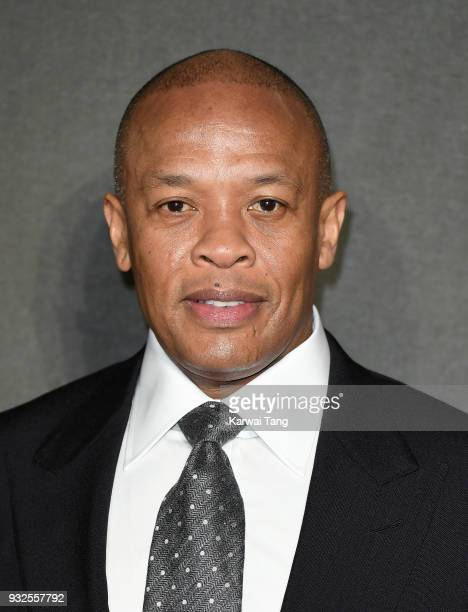 Dr Dre attends 'The Defiant Ones' special screening at the Ritzy Picturehouse on March 15 2018 in London United Kingdom
