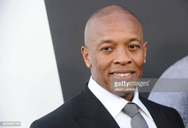Dr Dre attends the premiere of The Defiant Ones at Paramount Theatre on June 22 2017 in Hollywood California