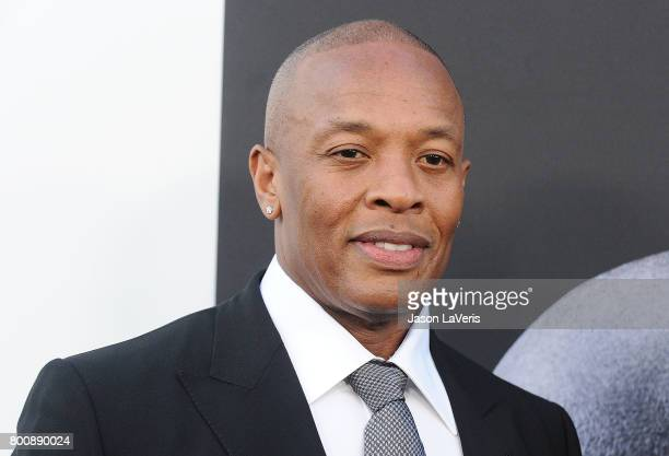 Dr Dre attends the premiere of 'The Defiant Ones' at Paramount Theatre on June 22 2017 in Hollywood California