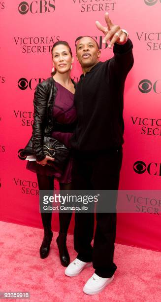 Dr Dre attends the Victoria's Secret fashion show at The Armory on November 19 2009 in New York City