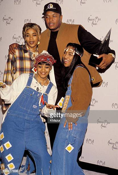 TLC Dr Dre during Lisa Left Eye Lopes of TLC Killed in Car Accident in Honduras File Photos United States