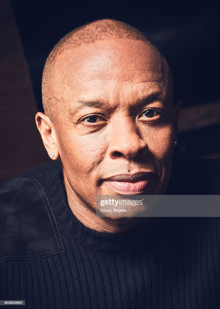 Dr. Dre is photographed for The Hollywood Reporter on March 23, 2017 in Los Angeles, California.