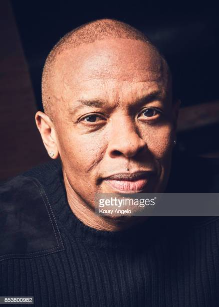 Dr Dre is photographed for The Hollywood Reporter on March 23 2017 in Los Angeles California