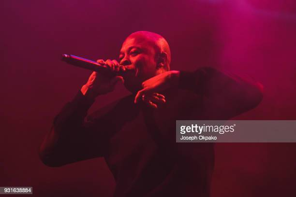 Dr Dre performs at Brixton Academy on March 13 2018 in London England