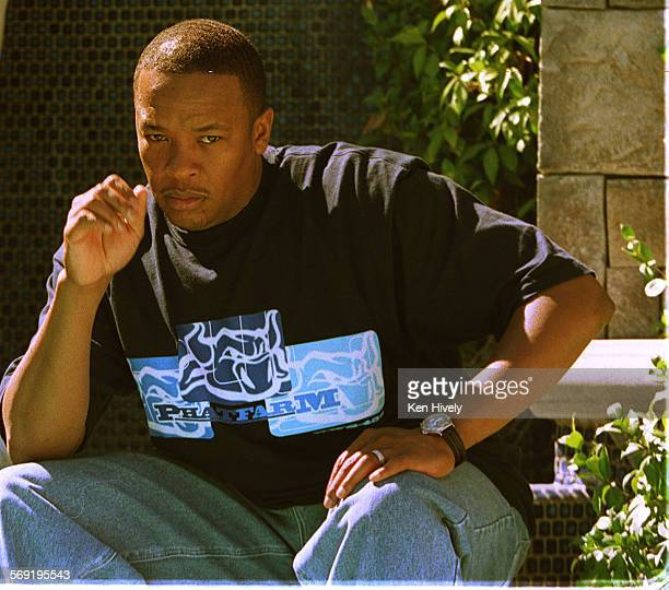 Dr Dre taken at his home in Woodland Hills Ca on October 7 1999