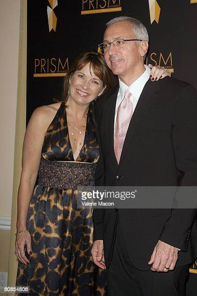 Dr Drew Pinski and wife Susan arrive at the 12th Annual Prism Awards at the Beverly Hills Hotel on April 24 2008 in Beverly Hills California