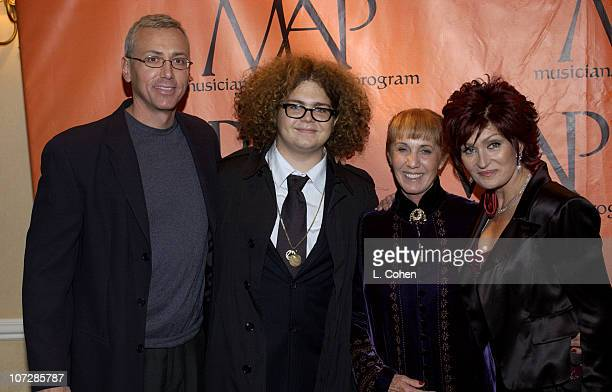 Dr Drew Pinski Jack Osbourne Carole Fields and Sharon Osbourne