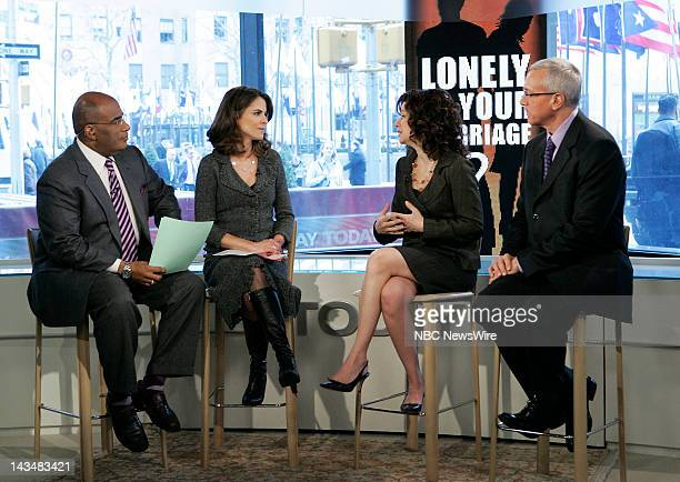TODAY Dr Drew Pinsky Air Date 3/4/08 Pictured Weather and feature reporter Al Roker and national correspondent Natalie Morales speak with doctors...