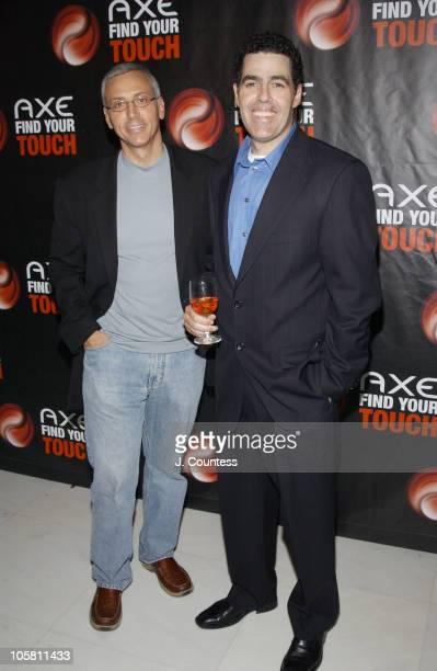 Dr Drew Pinsky and Adam Carolla of KROQ's 'Loveline'