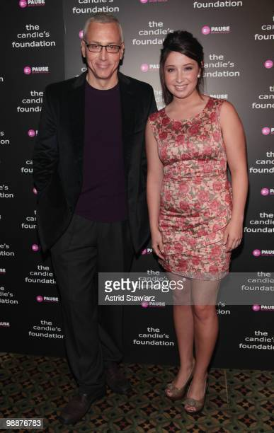 Dr Drew Pinsky and Bristol Palin attend The Candie's Foundation Event To Prevent at Cipriani 42nd Street on May 5 2010 in New York City