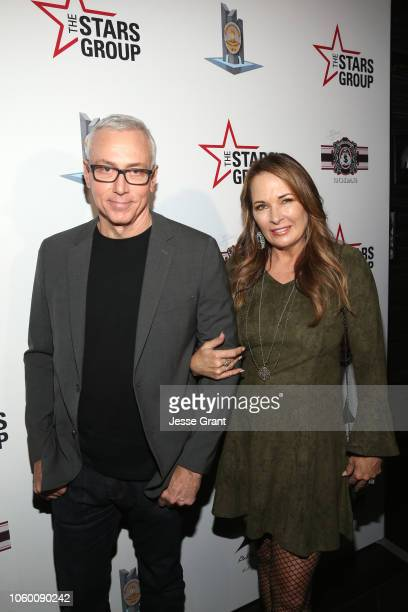 Dr Drew Pinsky and his wife Susan attend Heroes For Heroes Los Angeles Police Memorial Foundation Celebrity Poker Tournament at Avalon Hollywood on...
