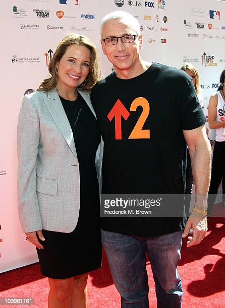 Dr Drew Pinsky and his wife Susan Pinsky arrive at Stand Up To Cancer held at Sony Pictures Studios on September 10 2010 in Culver City California